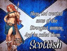 Il est incroyable ce dieu là.  Les plus belles femmes seraient des écossaises !   C'est parce que vous n'avez pas vu les femmes du Québec !   Il doit bien y avoir des p'tits diables chez vous aussi !
