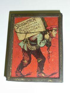 Vintage Stollwerck pastilles tin