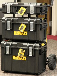 DeWalt 20V Max Cordless Power Tools - ToughSystem Tool Storage - Popular Mechanics