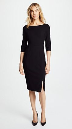 online shopping for Black Halo Marissa Sheath Dress from top store. See new offer for Black Halo Marissa Sheath Dress Black Dress Accessories, Black Dress Outfits, Black Sheath Dresses, Black Suit Dress, Business Dresses, Business Attire, Business Fashion, Classy Business Outfits, Classy Work Outfits