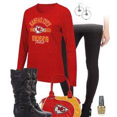 Kansas City Chiefs Leggings Outfit