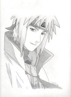Yondaime by on DeviantArt Sasuke Drawing, Naruto Drawings, Manga Drawing, Naruto Sketch, Anime Sketch, Naruto Eyes, Anime Naruto, Naruto Uzumaki Shippuden, Itachi