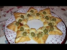 Christmas Dishes, Christmas Appetizers, Christmas Star, My Recipes, Holiday Recipes, Cooking Recipes, My Favorite Food, Favorite Recipes, Tasty Videos