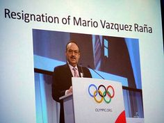 While he resigned from ANOC, Mario Vazqeuz Rana's present was always present. (ATR)  Add Around The Rings on www.Twitter.com/AroundTheRings & www.Facebook.com/AroundTheRings for the latest info on the Olympics.