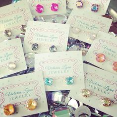Victoria Lynn stud earrings! Available in several colors and sizes! 6017077464
