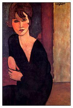 Amedeo Modigliani - Madam Reynaurd'un Portresi