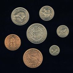 Ponds shillings and pence days pre 1965 - Coins issued, 1933 and 1940