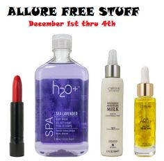 FREE Full-Size Beauty Products From Allure (December 1st-4th)