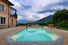 4 Villa Lario, luxury villa rental with pool and lake views on Lake Como