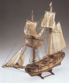 HALIFAX  GOLETA COLONIAL BRITANICA DE 1779 Kits