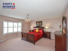 #Home Masterbedroom - Neighbourhood: Snelgrove - #Collingwood #Ontario