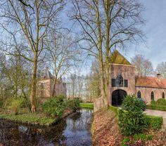 Kasteel Hindersteyn Langbroek Nederland      Hollandfotografie.nl