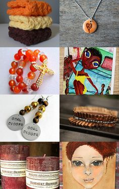 Autumn Finds ~ Living My Life Like It's Golden --Pinned with TreasuryPin.com #etsytreasury
