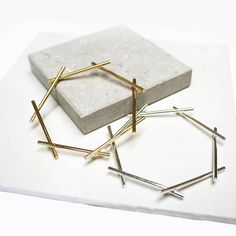 These branchy heptagon bangles. | 22 Pieces Of Beautifully Minimalist Geometric Jewellery
