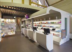 Pharmacy on pinterest for Modern pharmacy design