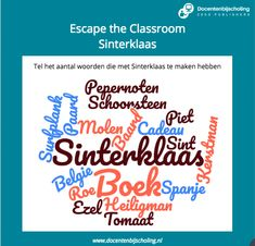 Escape Room, Escape The Classroom, Christmas Games, Teaching, Education, Concept Cars, Hush Hush, Onderwijs, Learning