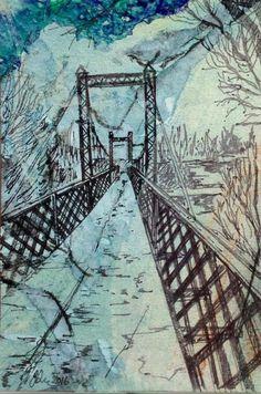 Cards to Kendal Postcard Size, How To Raise Money, Brooklyn Bridge, Cards, Travel, Modern, Viajes, Trendy Tree, Destinations