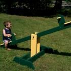 I want to make this!  DIY Furniture Plan from Ana-White.com  Make a teeter totter for less than $20! Free easy seesaw plans from Ana White!