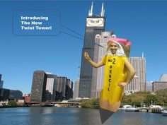 Help fund our campaign to buy Willis Tower and turn it into Twist Tower!