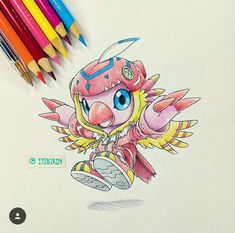 Biyomon by It's Birdy ☺