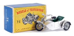 Matchbox Models of Yesteryear No.Y8-2 Sunbeam Motorcycle with Milford Sidecar