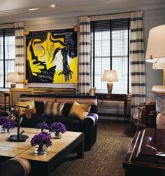 glam living room