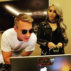 "Diplo's instagram update: ""Working w the queen @chaelincl"""