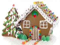 Daddy Cool!: Χριστουγεννιατικα μπισκοτοσπιτα!