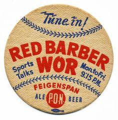 Tune In to broadcaster Red Barber! Vintage Graphic Design, Vintage Type, Vintage Designs, Type Posters, Band Posters, Vintage Packaging, Vintage Labels, Lettering Design, Logo Design