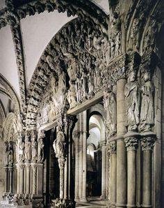 Cathedral of Santiago de Compostela Portico de la Gloria