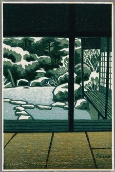 ca 1940 - Kasamatsu, Shiro - From Living Room