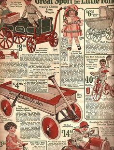Montgomery and ward Christmas catalog 1924