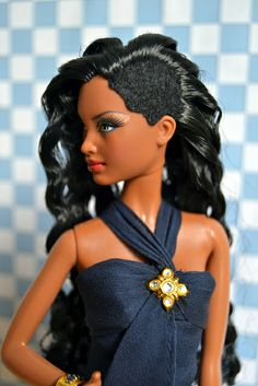 This group is for all barbie dolls who feature the mbili face mold, all pics that do not have one doll with this mold in it will be deleted. Beautiful Barbie Dolls, Pretty Dolls, African American Dolls, American Women, American History, Barbie Hairstyle, Afro, Beautiful Black Babies, Pin Up