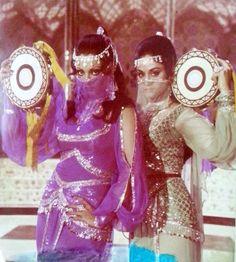 Rekha and Aruna Irani