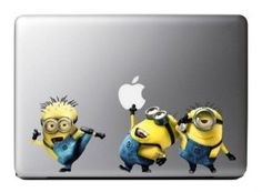 Minions Despicable me decals for MacBook Pro Air