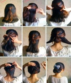 orta boy saç toplama modelleri - Google'da Ara