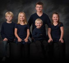My 5 grandchildren: Tyler, Caiden, Emily, Kiyah, and Anthony.  I want them to see the world.  #rfdreamboard