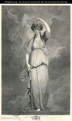 Justice - (after) Sir Joshua Reynolds