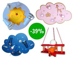 Toll fürs Kinderzimmer: Lustige Lampen von Waldi #baby #nursery