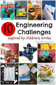 Read a book and then try one of these 10 engineering challenges.