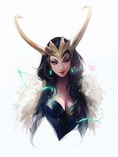 Loki by rossdraws on DeviantArt