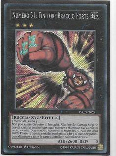 YU-GI-OH! NUMERO 51: FINITORE BRACCIO FORTE DRL3-IT024 THE REAL_DEAL SHOP