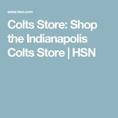 Colts Store: Shop the Indianapolis Colts Store | HSN