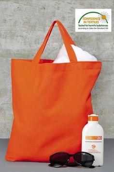 Bags By Jassz 'Cedar' Cotton Short Handle Shopper Bag Shopping Tote Cotton Bag, Cotton Shorts, Textiles, Shopper Bag, Screen Printing, Totes, Reusable Tote Bags, Backpacks, Fabric