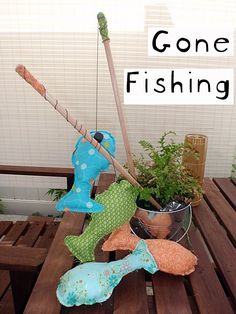 fishing play set (use a washer instead of magnets on the pole -- NO EXPOSED MAGNETS)