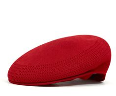 The seamless, knitted and blocked construction is purely a Kangol innovation, and wool is the fundamental raw material upon which Kangol has built its name.