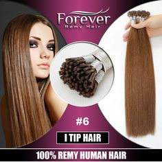 Xuchang Forever 100% remy Human cuticles Hair Italian Keratin top quality double drawn 26 inch i-tip hair extension