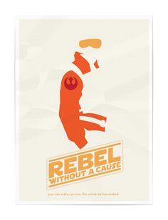 matt ranzetta graphic design: star wars movie poster series