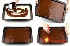 Ingredients: 7 eggs 7 spoons suger 7 spoons flour 1 spoon cocoa a half pastry cooking Preparing : The eggs are Pastry Cook, Griddle Pan, Sheet Pan, Biscuits, Sweet Tooth, Cheesecake, Deserts, Food And Drink, Sweets