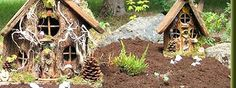 Gnomes homes!  Love them.  I won't have to worry about homeless gnomes in my yard anymore. : )